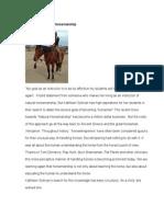 ggg sullivan mannix a winding path to horsemanship