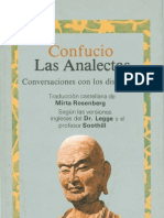 Anónimo - Confucio - Las Analectas