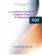 Journal of Computer Science IJCSIS Vol. 11 No. 2 February 2013