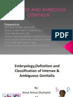 Intersex & Ambigous Genitalia