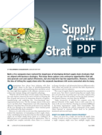 Logistics Management Supply Chain Strategies Cover Story