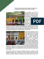 Acuerdos Logrados en El Evento Del 9 de Noviembre en San Pablo de Borbur