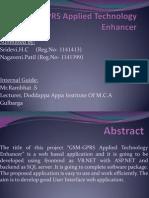 GSM-GPRS Applied Technology Enhancer