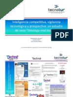 Inteligencia competitiva, vigilancia tecnológica y prospectiva