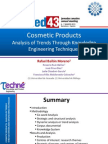 Cosmetic Products Analysis of Trends Through Knowledge Engineering Techniques.