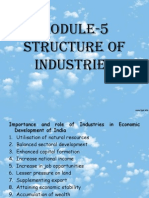 IBE Structure of Industries