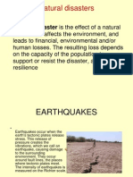 Natural Disaster Ppt