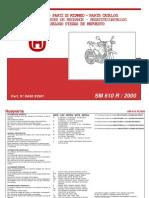 Husqvarna SM 610R 2000 Manual Componente