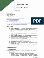 CV Full English