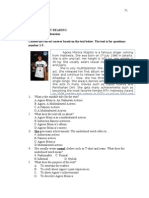 Soal Bahasa Inggris VIII SMP Descriptive Recount