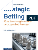 Strategic Betting by Mike Marsland