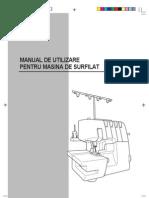 Masina de Surfilat Brother 3034d Manual