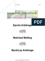 Sports Arbitrage by UCantLose