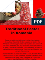 Traditional Easter in Romania