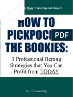 How to Pickpocker the Bookies by Clive Keeling