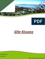 Master 1 Dossier Gîte Kissane