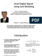 Chapter4 (2W) - Signal Modeling -Statistical Digital Signal Processing and Modeling
