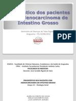 Prognóstico de pacientes com adenocarcinoma de intestino grosso