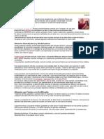 Artrosis y Alimentación