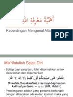 5 Urgensi Ma'Rifaullah