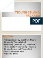 Tidung Island Package