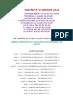 OAB 2ª FASE RENATO SARAIVA 2012