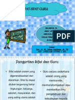 Ppt Sifat-sifat Guru