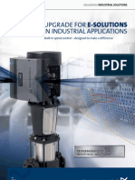 E-solutions in industrial applications
