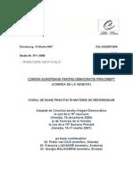 Venice Commission Ro