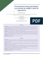 Artrosis y Homotoxicologia Dr. Estrada