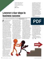 Chevron's four steps to business success