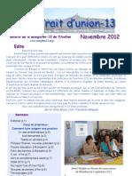 Trait d'Union - Nov 2012 - Comment faire soigner nos proches ?