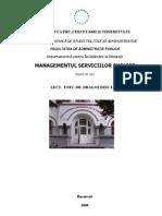 Managementul serviciilor publice
