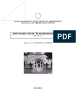Raspunderea Penala in Administratia Publica