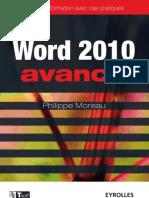 Word 2010 avancé - Guide de formation avec cas pratiques