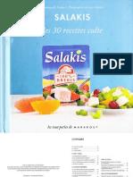 Salakis Les 30 Recettes Culte - Marabout