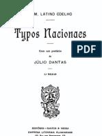 Typos Nacionaes - Latino Coelho