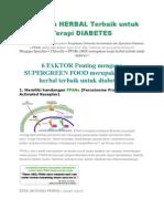 Terapi Diabetes Melitus