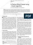 Detection of Retinal Blood Vessel using Kirsch algorithm