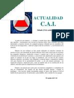 [AFR] Actualidad CAI 1