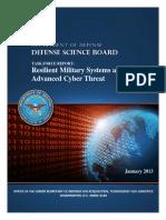 Defense Science Board
