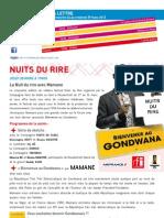 La Lettre de l'IFM Du 24 Au 29 Mars 2013
