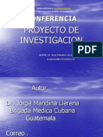 Pro Yec to Investigacion