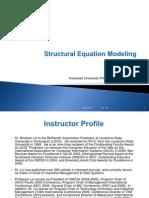 Structural Equation Modeling Dr Lin 5 2012
