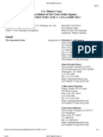 Associated Press (AP) v. Meltwater, 12 Civ. 1087 (DLC) (S.D.N.Y.) (docket, as of 3-24-13)