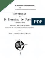 Sentenças de D. Francisco de Portugal