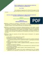 Ley 6756 - Ley de Asociaciones Cooperativas(1)