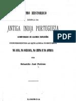 Resumo Historico Acerca Da Antiga India Portugueza