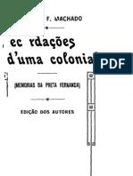 Recordações d'uma colonial - Fernanda do Vale