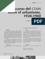 El Discurso Urbano de Los CIAM